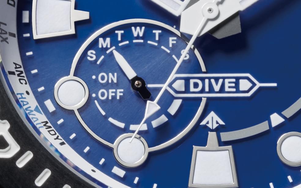 GPS diver